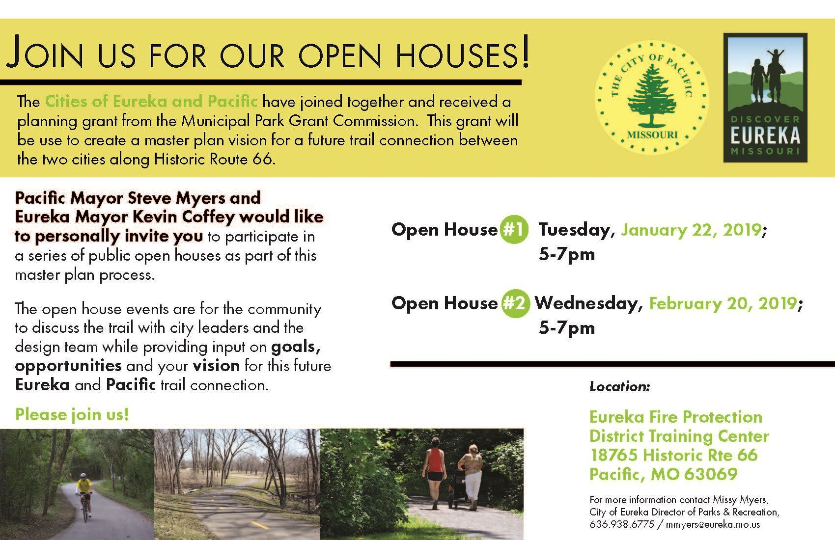 Trail Open House Post Card