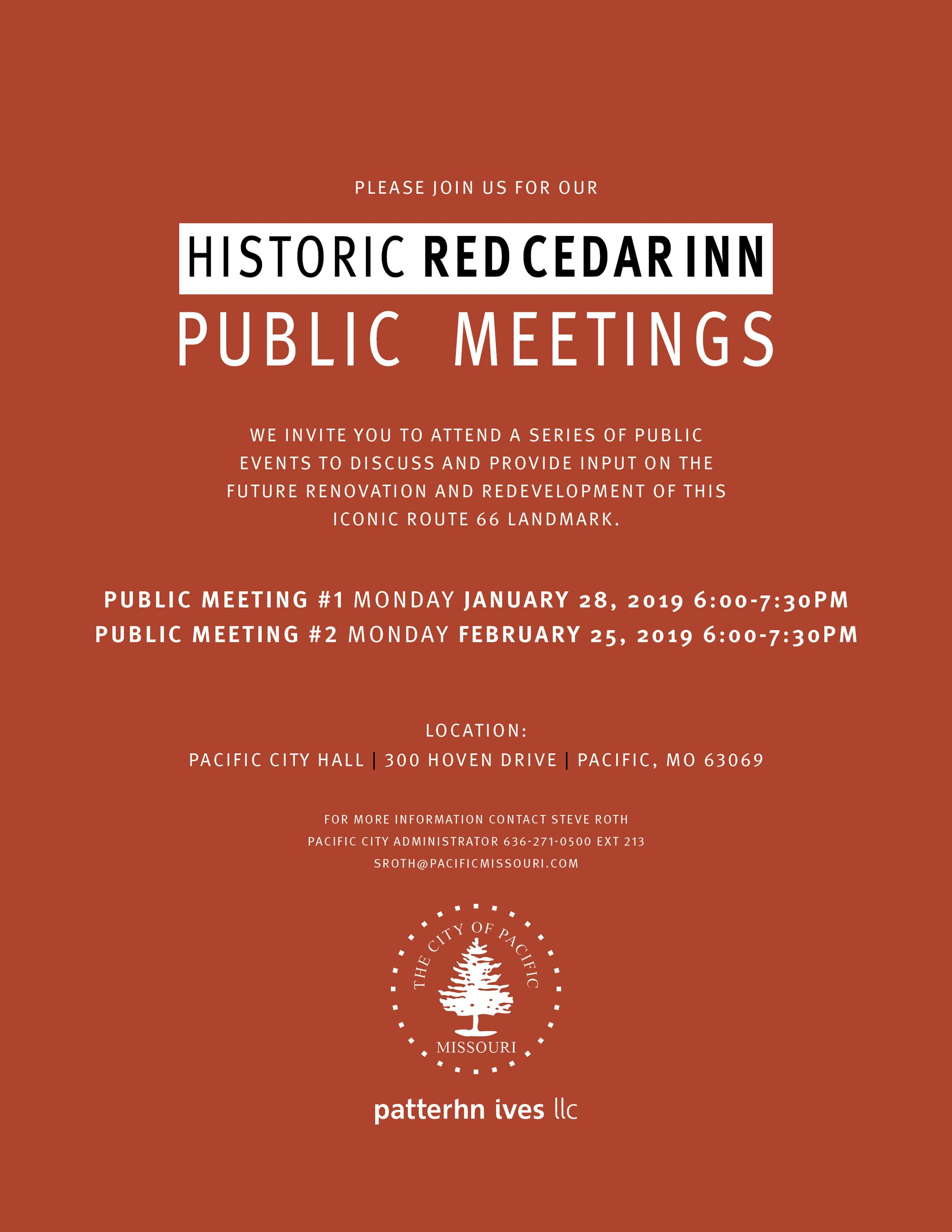Red Cedar Inn PUBLIC MEETINGS INVITE 8-5x11 r1